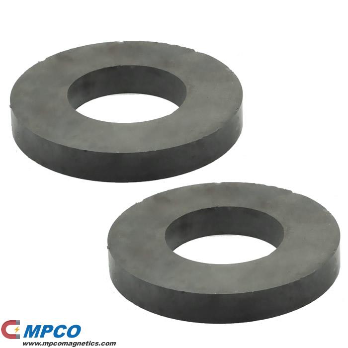 OD80 x ID32 x T15mm Ceramic Ring Magnets