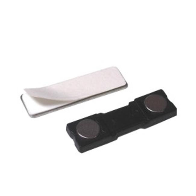 Rectangular shape Adhesive Badge Holder Magnet
