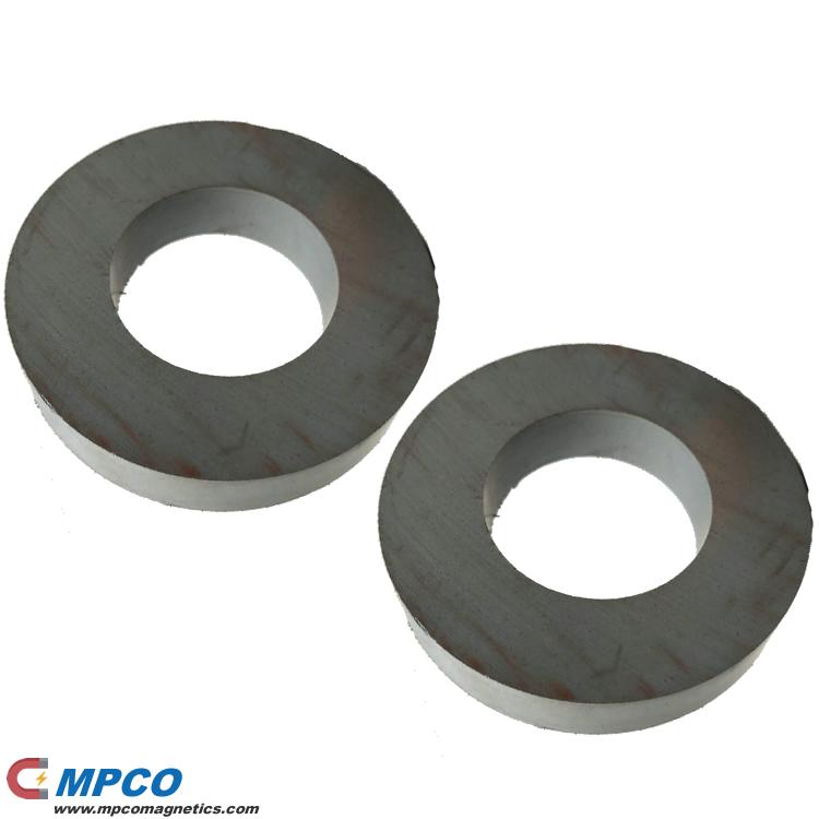 Sintered Ferrite Permanent Ring Magnets for Audio Loudspeaker