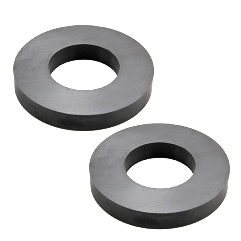 Sintered Hard Ferrite Ring Magnet
