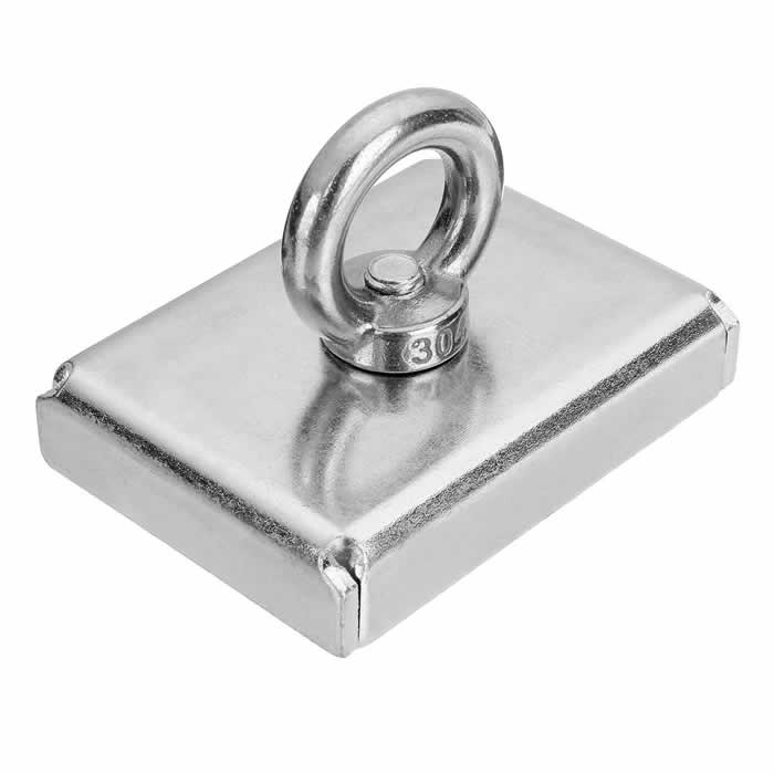 Stainless Steel Eyebolt M8 Treasure Hunting Magnet