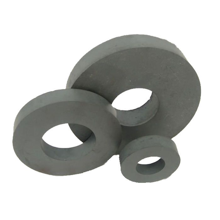 Strong Multipole Ring Ferrite Magnets Y35H