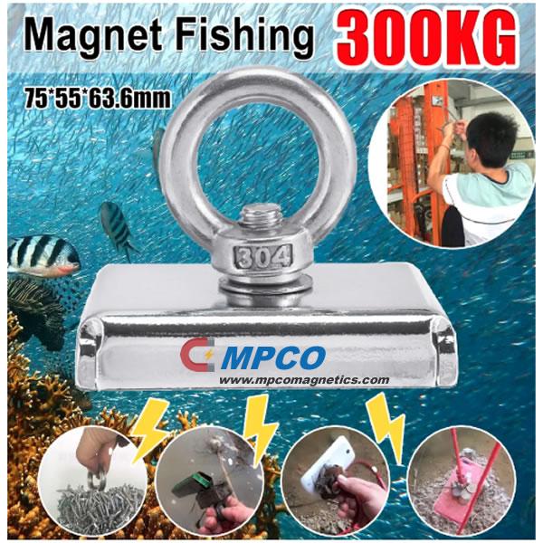 deep sea magnet fishing 300kgs