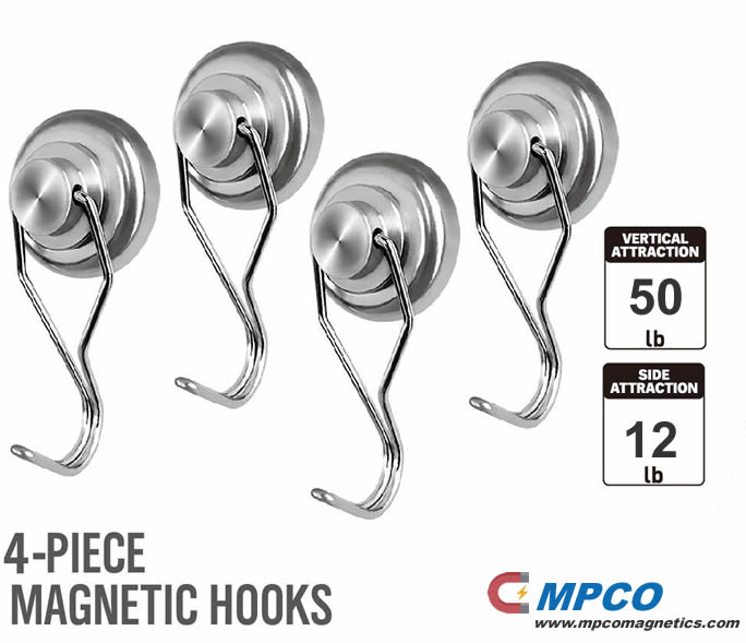All-Purpose Swivel Swing Powerful Neodymium Hook Magnets