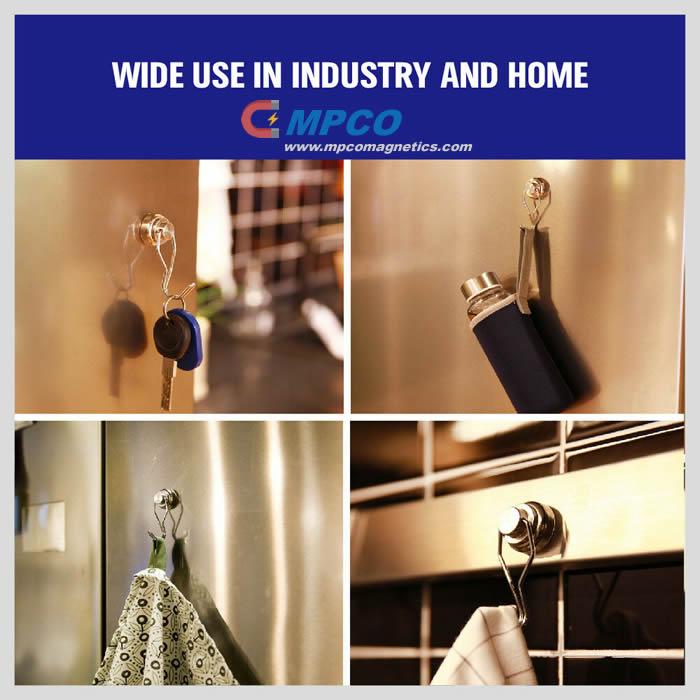 Home Refrigerator Magnetic Hooks China Manufacturer