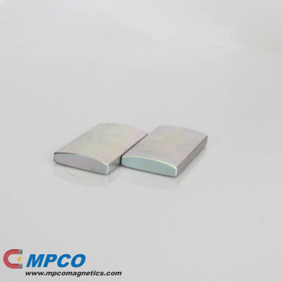Neo bread loaf shaped magnets for Direct Drive PM Generator Motor