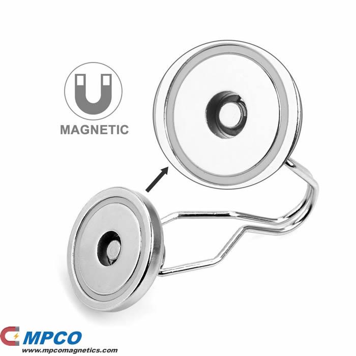Permanent Hook Magnets Round Base Pot Magnet
