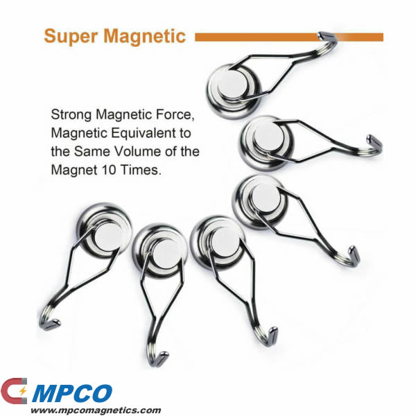 Strong Magnetic Force Super Neodymium Rotating Hook Magnets