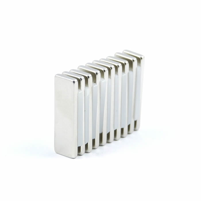 25mm x 8mm x 2mm N52 Smart Motor Magnets Rectangular Shape