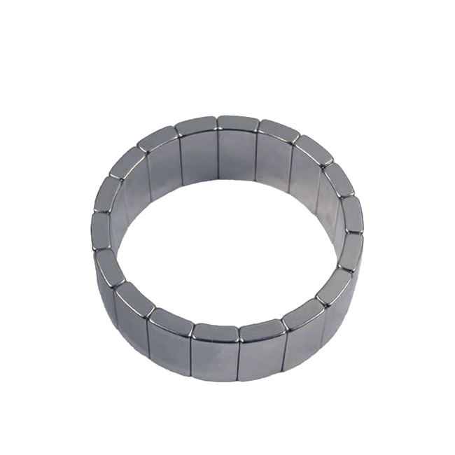 Commercial Motor N33UH NdFeB Tile Arc Magnets