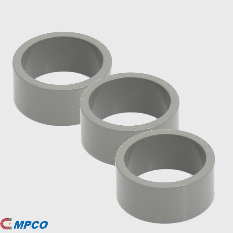 Gray Epoxy Coating Annular Motor Magnets