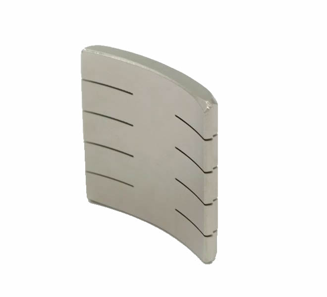 N40UH Neodymium-Iron-Boron Segment Magnets for Servo Motor