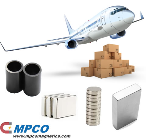 Neodymium Magnets by Air freight