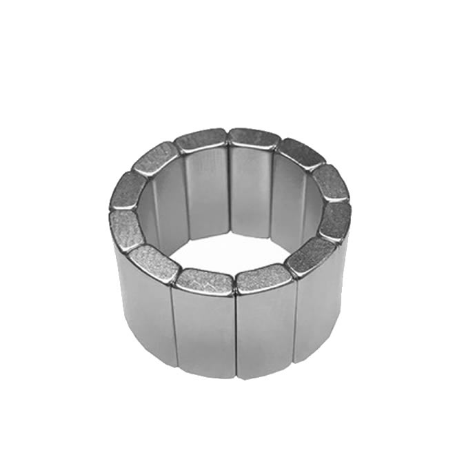 Sintered NdFeB Arc Magnets for Air Compressor Motor