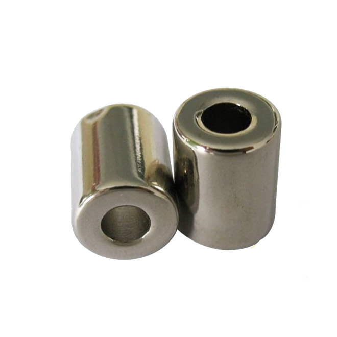 Unipole On OD and ID Sintered NdFeB Ring Magnet N33EH
