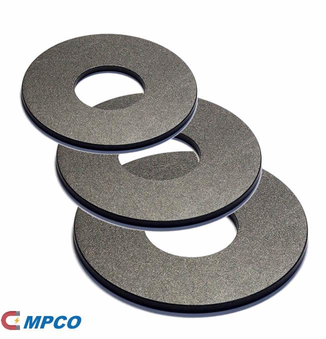 Anisotropic Neodymium Iron Boron Teflon Ring Magnets for Loudspeaker