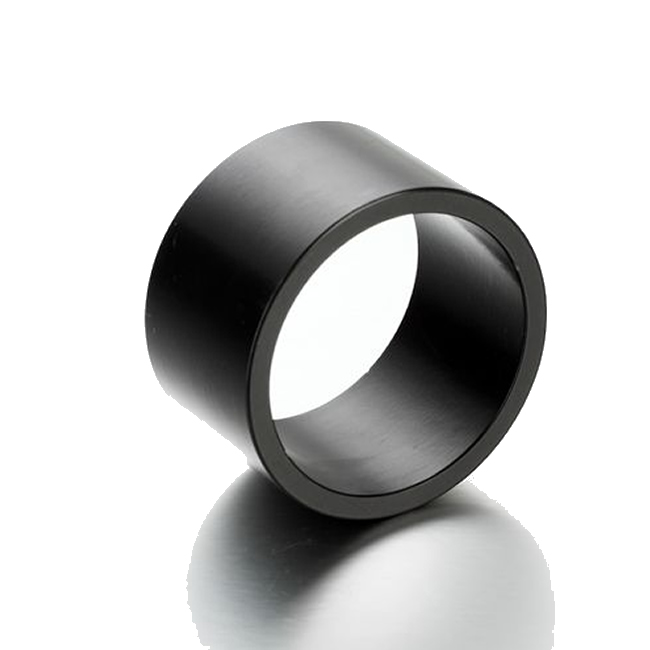 Black Epoxy Coated High Speed Motor Multi-pole Ring Magnet N50H