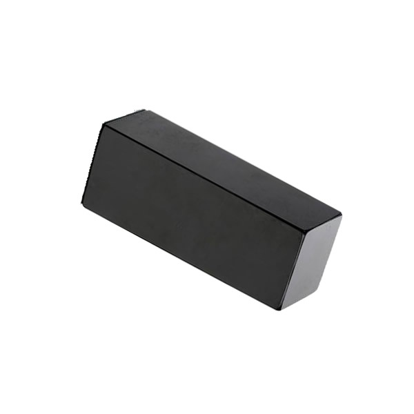 Black Epoxy Coated Magnet Rectangular Block N45H