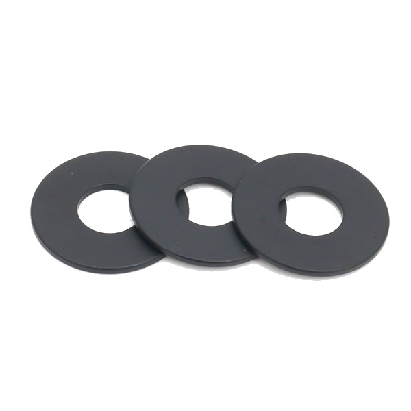 Black Epoxy Coated Ring Speaker Magnets N45UH