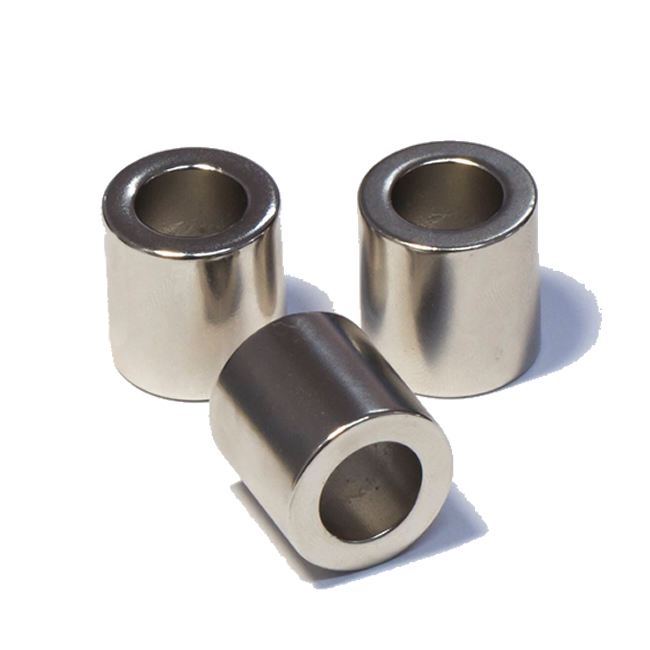 Multi-polar Sintered NdFeB Ring Tube Magnets N55