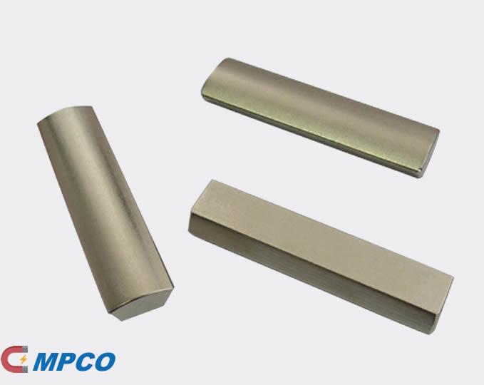 N33EH Neodymium Arc Segment Permanent Magnets