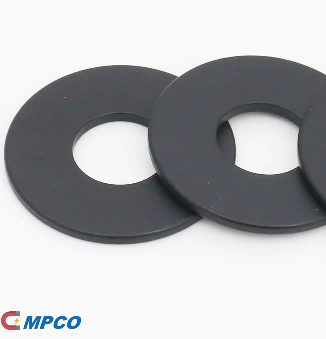 N45UH Neodymium Loudspeaker Ring Shape Magnet with Black Epoxy