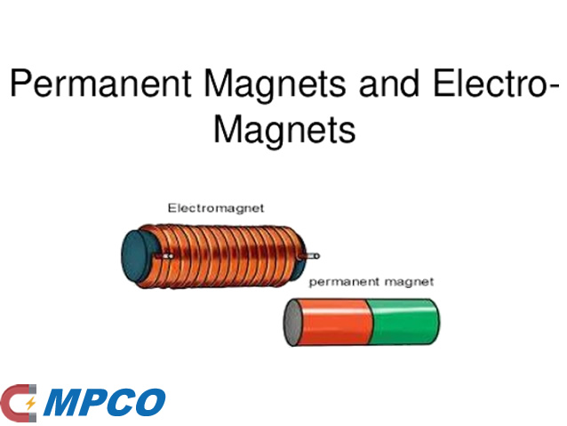 The difference between electromagnet and permanent magnet