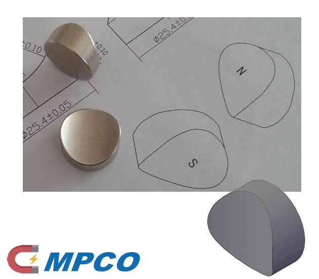 Custom Curved Shaped Neodymium Rare Earth Magnets