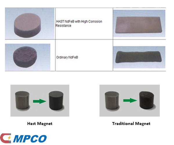 Hast Neodymium Magnets traditional VS hast magnets