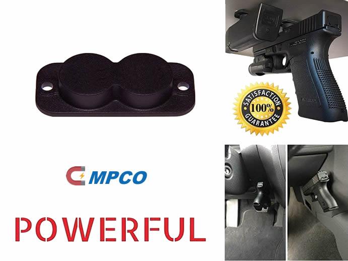 Holster Gun Magnet Holder for Car or Under Table