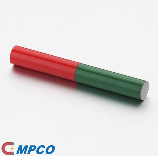 Painted Alnico Teaching bar permanent magnet