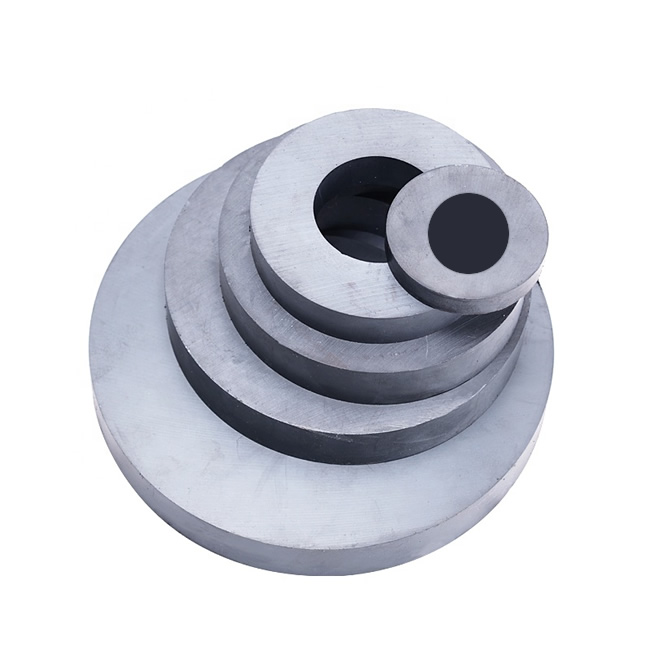 Radial Ring Multipole Anisotropic Ceramic Magnets