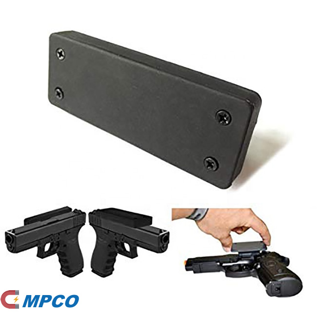 Rubber Coated Magnetic Gun Holder Accessories