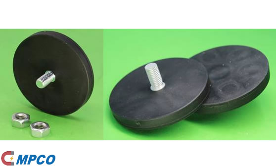 Rubber Coated Neodymium Permanent Magnet Assemblies