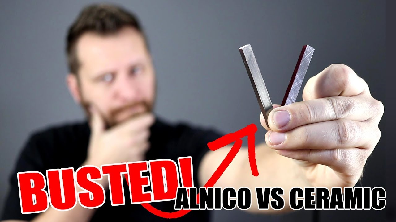 Alnico vs Ceramic Magnets – How Do They Affect Guitar Pickup Tone