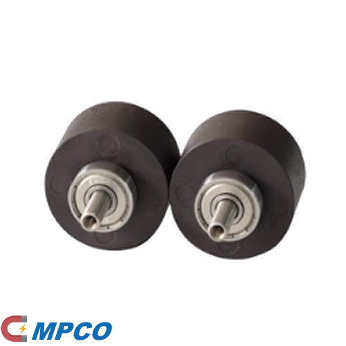 Alumium steel shaft injection bonded NdFeB magnet assembiles