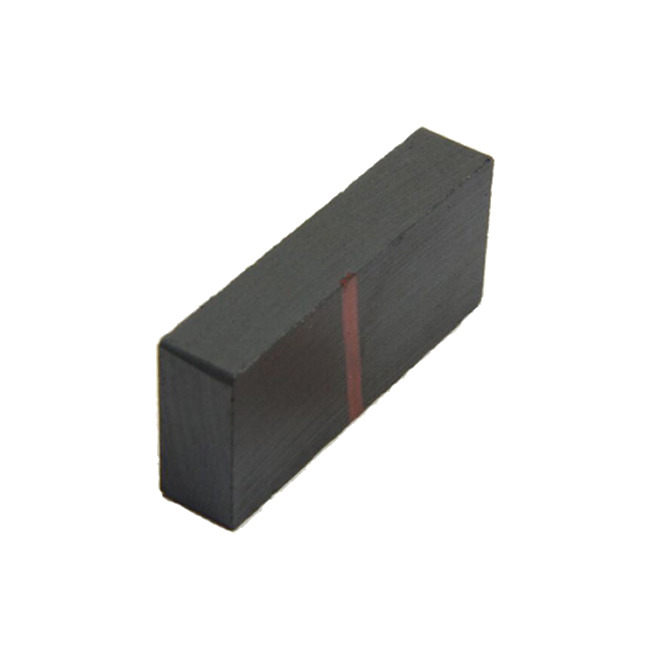 C5 Grade Anisotropic Ceramic Rectangular Magnet 40X25X10mm