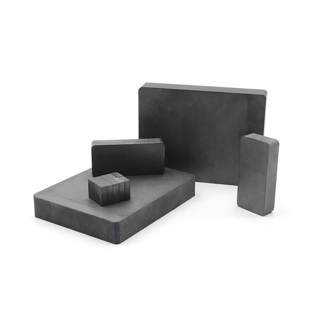 Custom Drawing Ferrite Block Magnets Y10-Y40 (C1-C11)