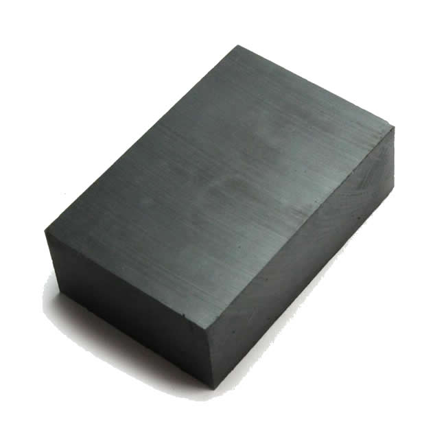 Large Block Permanent Anisotropic C5 Ceramic Magnet 110X65X25mm
