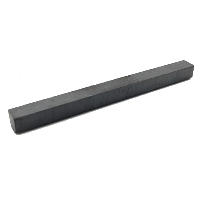 Multi-Poles Ferrite Bar Magnet with Attached Customized Drawing
