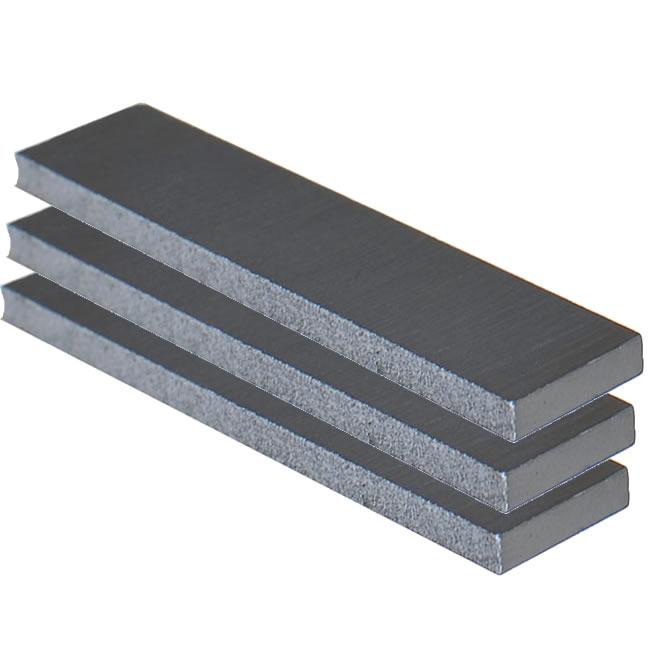 Narrow Ceramic 8 Polished Ground Guitar Bar Magnet