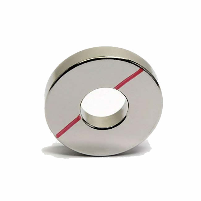Neodymium Rare Earth Magnet Ring Grade N45