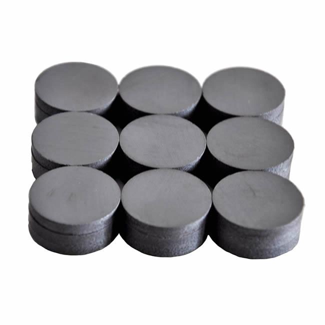 Round Ceramic Industrial Ferrite Magnets D18xT4mm