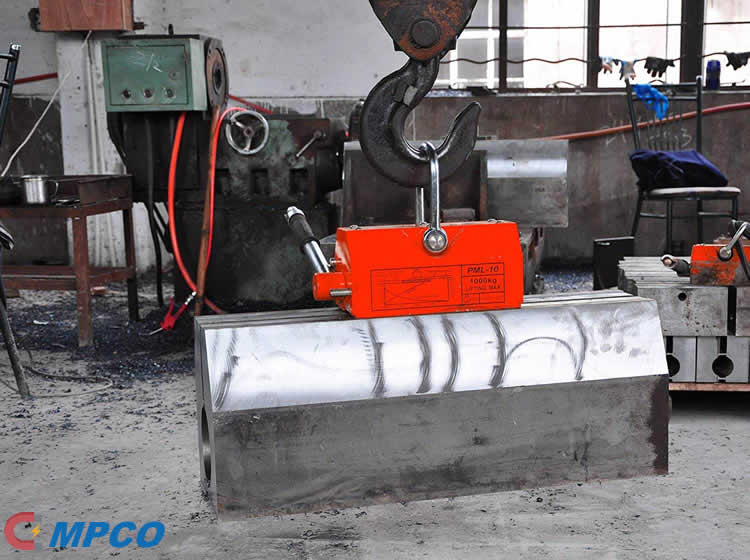 THE PURPOSE OF A PERMANENT LOAD LIFTING MAGNET