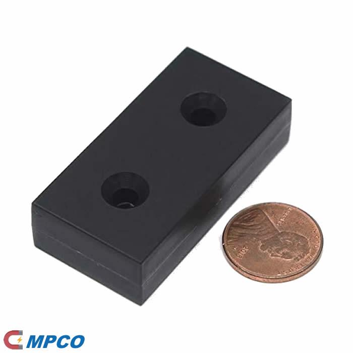 Unbreakable N52 Countersunk Block Neodymium Magnet