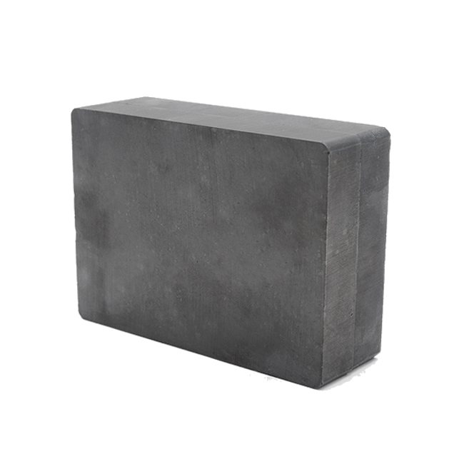 Y33 Block Sintered Anisotropic Hard Ferrite Magnets 60X50X15mm