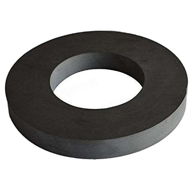 4 Inch Dia Grade 8 Ceramic Ferrite Ring Magnet for Science Experiment