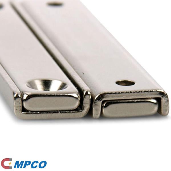 60mm Channel Neodymium Door Cabinet Gun Holding Magnets