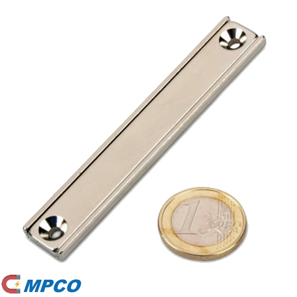 80mm Long Rectangle Channel Nd Magnet