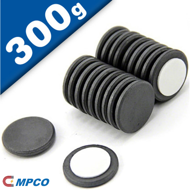 Adhesive Foam Pad Ceramic Disc Magnets dia22xthickness2mm